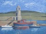 Port Logan, Galloway - oil